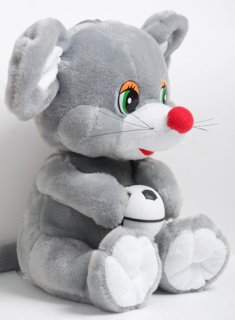 ぬいぐるみ・ネズミの画像