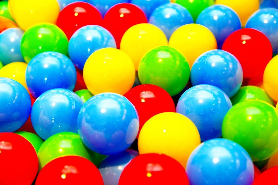カラフルボール(かんたんキレイ登録のサンプル)画像